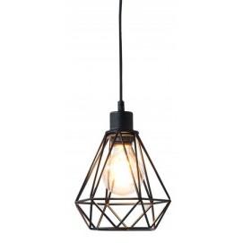Лампа подвесная Cage S черная 37716 Invicta