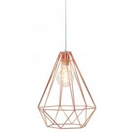 Лампа подвесная Cage L медь 37713 Invicta
