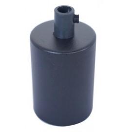 Стальная гильза для патронов Е-27 (черная) X-ed