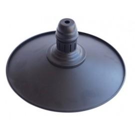 Стальной абажур в стиле лофт D250-1 черный X-ed