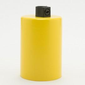 Патрон с накладкой E27 желтый Retro