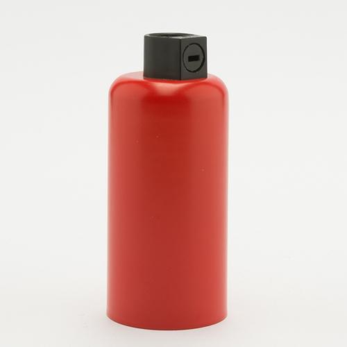 Патрон с накладкой E14 красный Retro