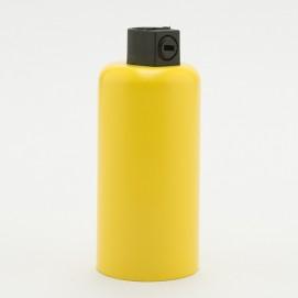 Патрон с накладкой E14 желтый Retro