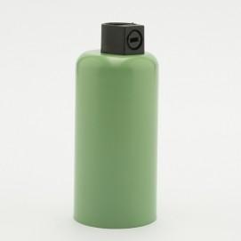 Патрон с накладкой E14 зеленый Retro