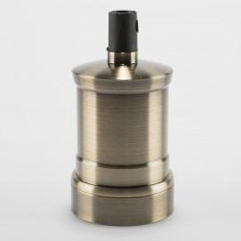 Винтажный патрон для абажура бронза Retro