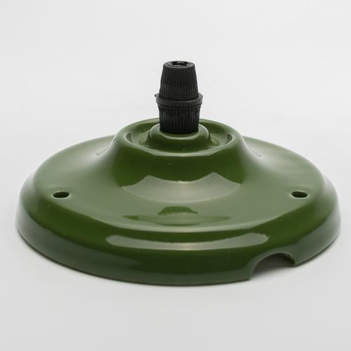 Потолочный крепеж керамический зеленый Retro