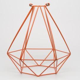 Абажур диамант оранжевый Retro