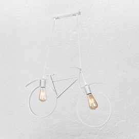 Люстра Велосипед 756PR7021-2 белая Thexata