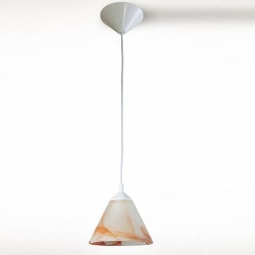 Лампа подвесная Конус 13407 бежевая N&B LIGHT