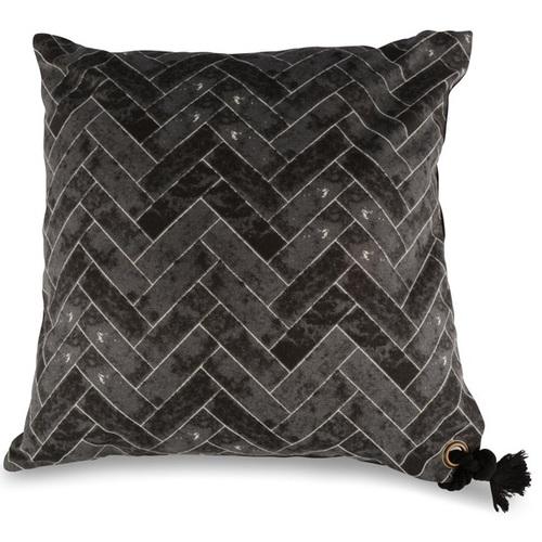 Подушка 1172 черно-коричневая Dyyk