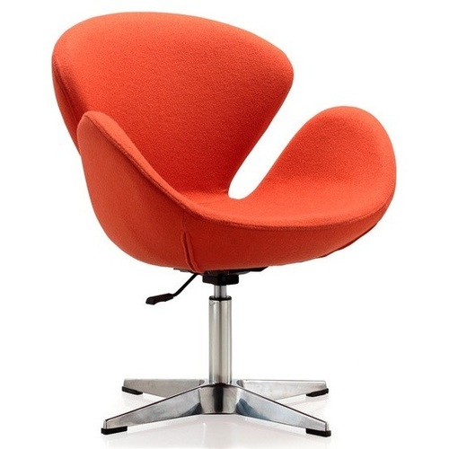 Кресло Сванни оранжевое Mebelmodern