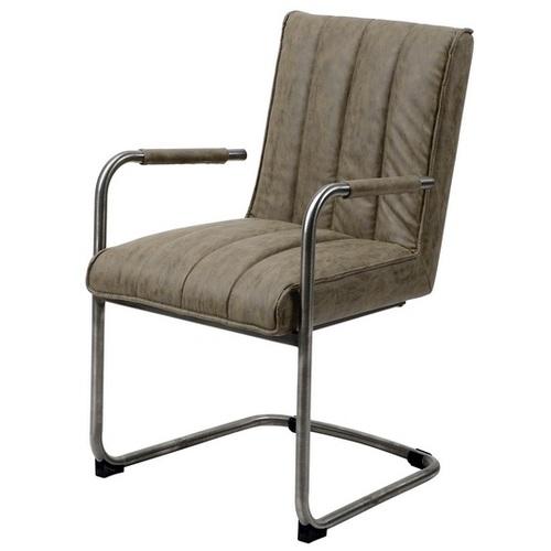 Кресло офисное 4950 / 50W темно-серое Zijlstra 2018
