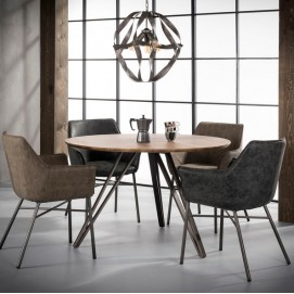 Стол обеденный 5633 / 53 коричневый Zijlstra 2018