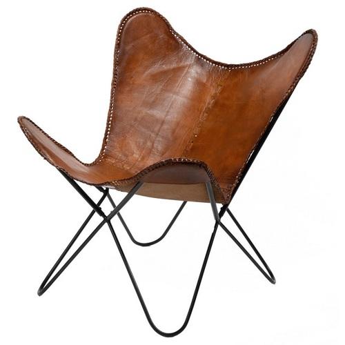 Кресло бабочка 3610 / 40 коричневое Zijlstra 2018