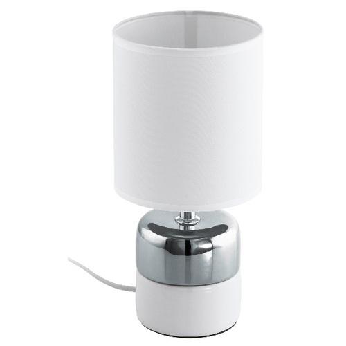 Лампа настольная 97098 | SORITA 2 белая Eglo