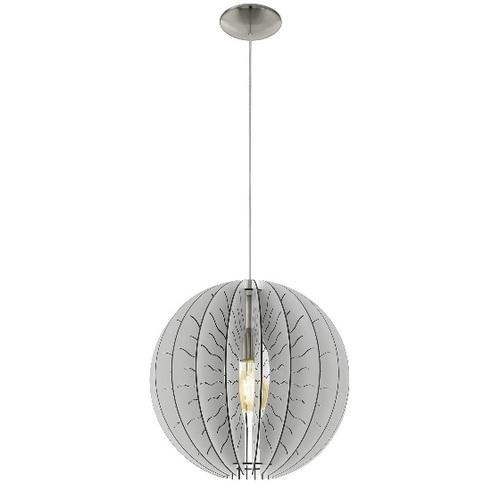 Лампа подвесная 32821 FABESSA белая Eglo