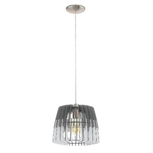 Лампа подвесная 32824 ARTANA серо-белая Eglo