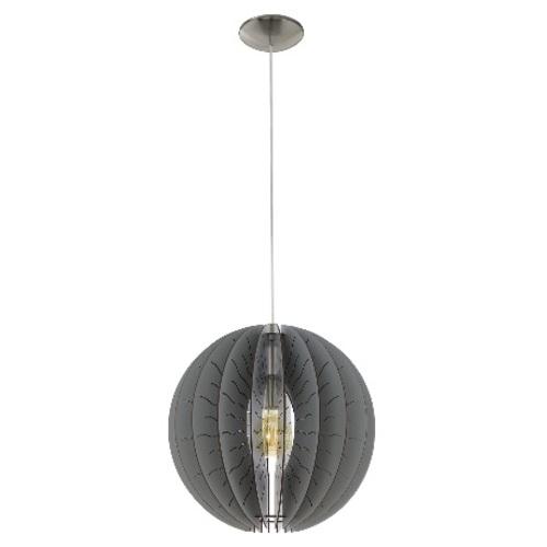 Лампа подвесная 32822 FABESSA серая Eglo