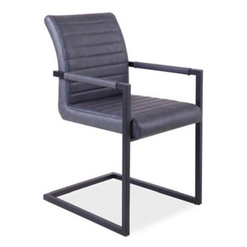 Кресло офисное Solid темно-серое Signal