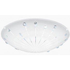 Настенно-потолочный светильник 96113 | MARGITTA 1 белый Eglo 2018