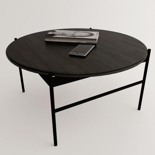 Журнальный стол ULTRA черный ESENSE