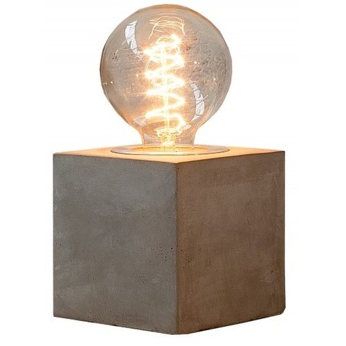 Лампа настольная Collection I 37692 серый бетон Invicta 2018