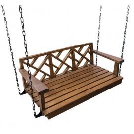Качели-скамейка подвесная SS003986 натуральная Woodville