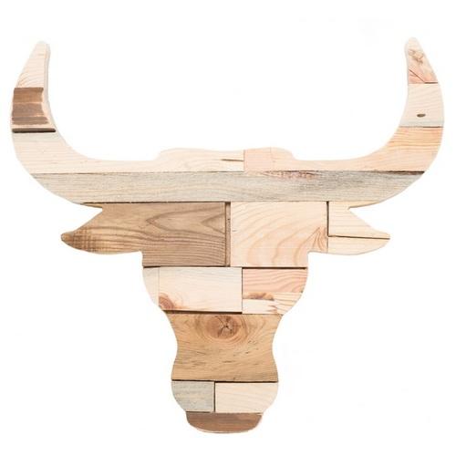 Панно декоративное Буйвол натуральное SS004175 Woodville