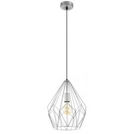 Лампа подвесная  CARLTON 49935 серебро Eglo 2018