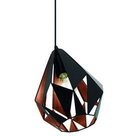 Лампа настольная CARLTON 1 49993 черная Eglo 2018
