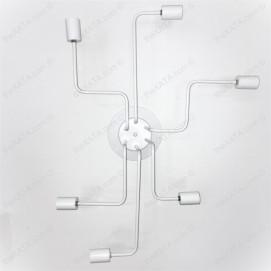 Люстра-лабиринт 756PR0230-6 белая Thexata