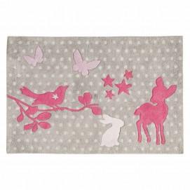 Ковер детский Bambi 80 x 120 cm розовый 135311 Maisins 2018