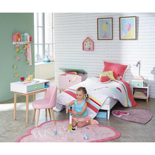 Ящик для игрушек Berlingot розовый 151010 Maisons 2018