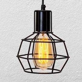 Лампа подвесная 756PR1618-1 черная Thexata