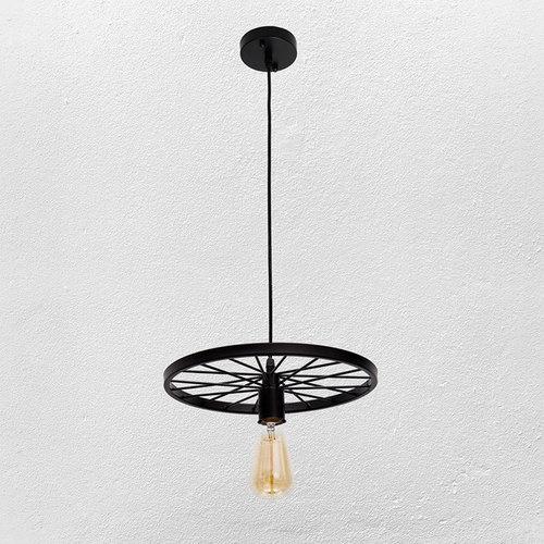 Лампа подвесная 746WXA012-1 BK черная Thexata