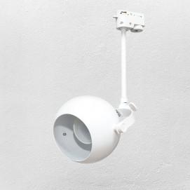 Прожектор на треке 7521209-1 GU10 белый Thexata