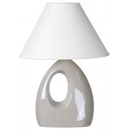 Лампа настольная HOAL 14558/81/31 серая Lucide