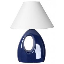 Лампа настольная HOAL 14558/81/35 синяя Lucide