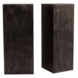 Набор подставок 2шт ARTESIA 24280 черная VicalHome
