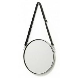 Зеркало на ремне 30 см ELNE AA1909C37 серебро Laforma 2018