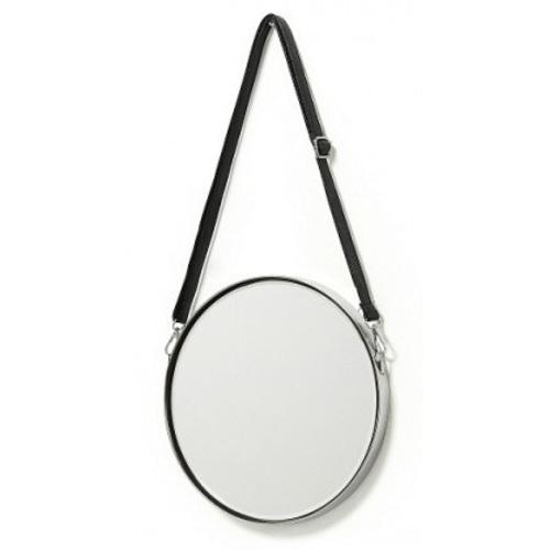 Зеркало на ремне 40 см ELNE AA1910C37 серебро Laforma 2018