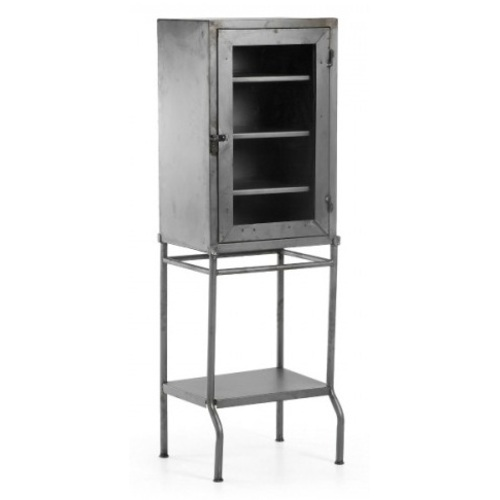 Шкаф закрытый BOSSY A593R51 серый Laforma 2018