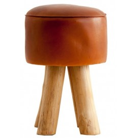 Пуф STOOL 23784 коричневый VicalHome