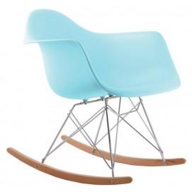 Кресло качалка Paris Primel голубой (ocean blue)