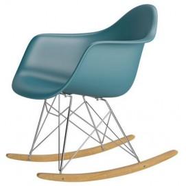 Кресло качалка Paris Primel серо-голубой (slate)