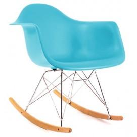 Кресло качалка Paris Primel светло-бирюзовый (surfin)