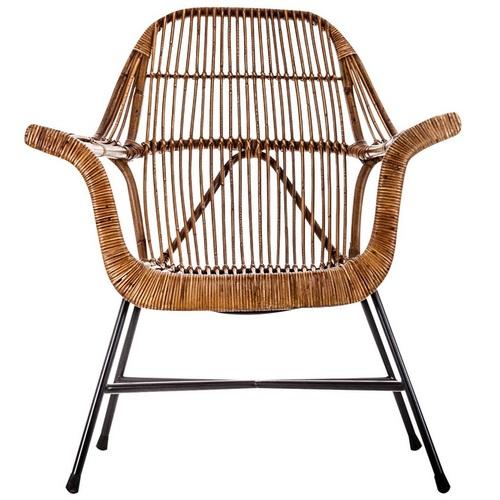 Кресло CHAD 20642 натуральное VicalHome
