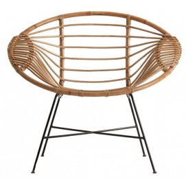 Кресло SINGEN 24616 натуральное VicalHome
