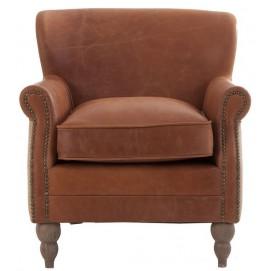 Кресло ARMCHAIR 22663 коричневое VicalHome