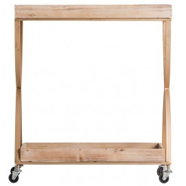 Стол сервировочный KALISZ 24717 натуральный VicalHome